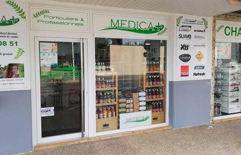 boutique de location ou vente de matériel médical saint martin de crau