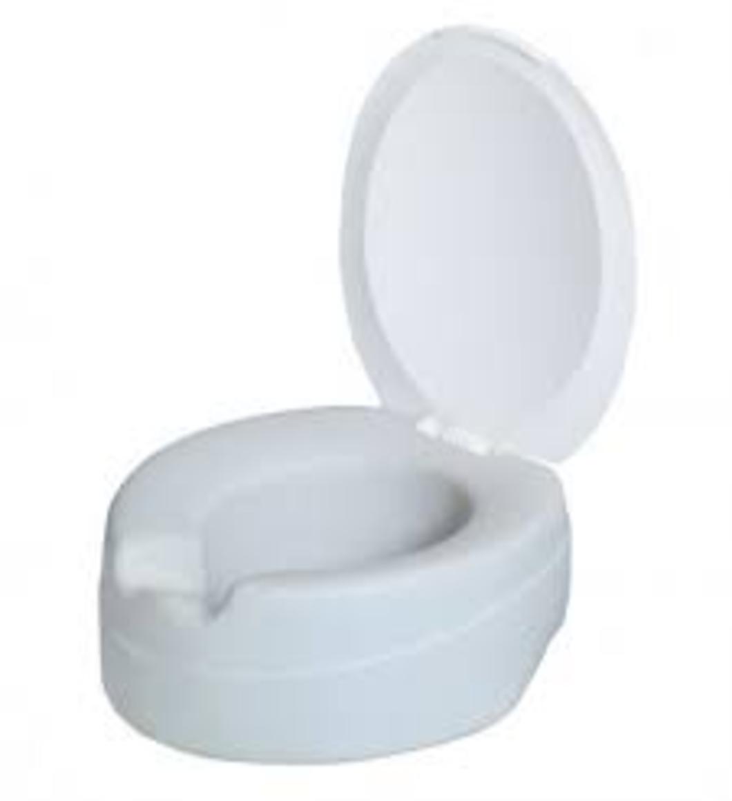 Rehausseur WC avec couvercle