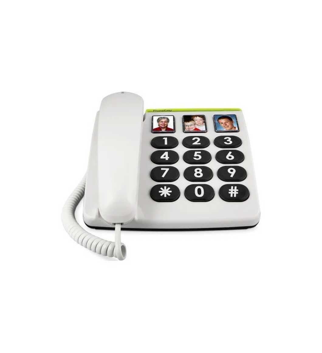 Téléphone touches large